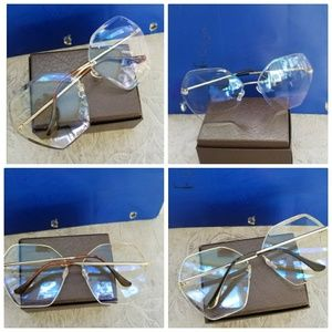 over sized clear transparent sunglasses women